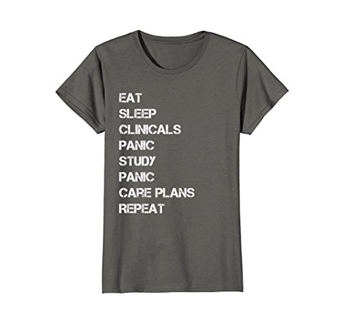 Womens Funny nursing student nurse gift idea T-shirt T Shirt Tee Medium (Nursing Gift Ideas)