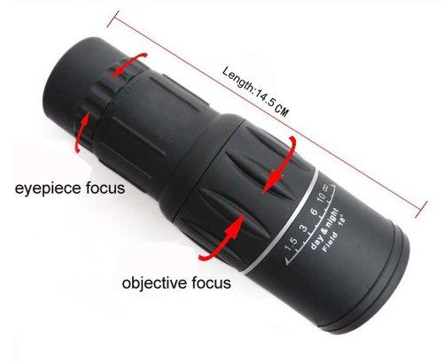 New Generation Dual Focus 16x Zoom In 66M/8000M Field Monocular