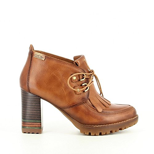 Booty Pikolinos Leather Leather W7M-7810 Brown