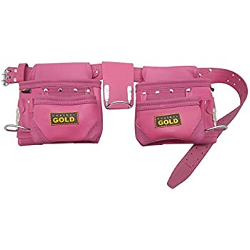 Leather Gold Tool Belt for Women