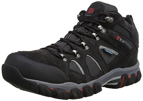 Karrimor Bodmin IV Weathertite, Men's Trekking and Hiking Shoes, Black (Black Sea), 9.5 UK