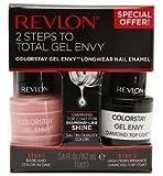 Revlon ColorStay Gel Envy Value Packs, Cardshark + Top Coat