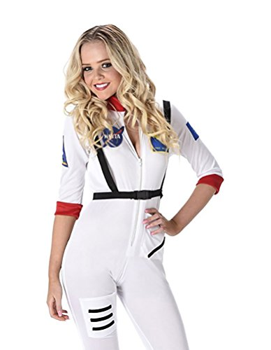 Sexy White Space Costume
