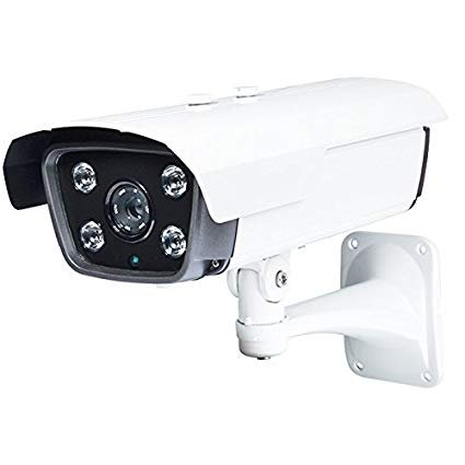 Aposonic 2MP 1080P TVI/CVI/AHD/Analog 4-in-1 Varifocal 5-50mm CCTV Surveillance 4 Array Starlight IR LEDs Camera (White)