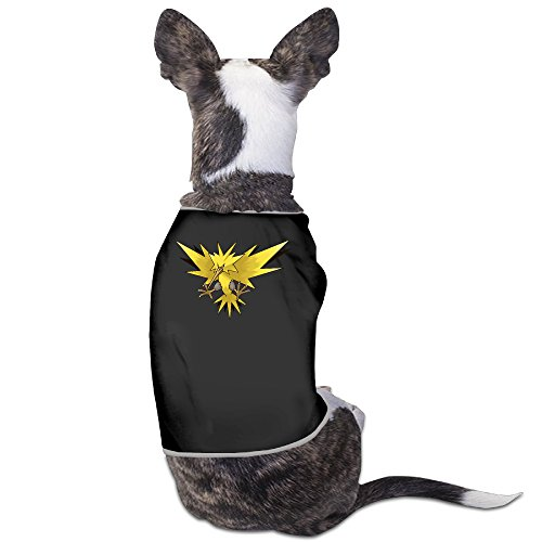 Zapdos Pokemon Mystery Dungeon Red And Blue Rescue Team Dog Clothing Puppy (Zapdos Costume)