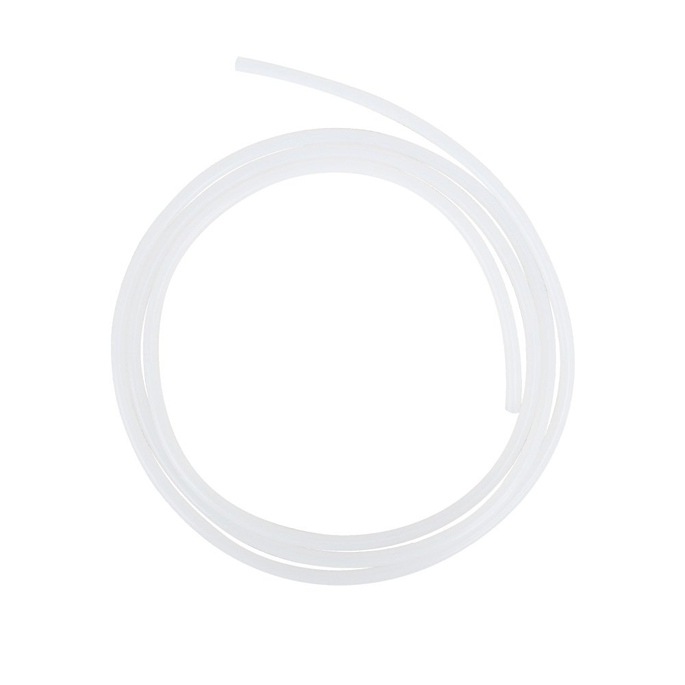 HUICAO 3.28 Feet = 1 Meter Teflon PTFE Tube OD 10mm ID 8mm for Chemical Electrical Medical Equipment