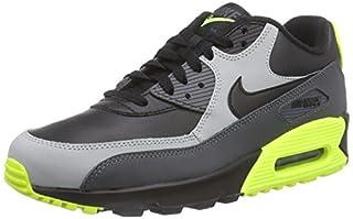 Nike Men's Air Max 90 LTR BlackGreyVolt 652980 007 (Size