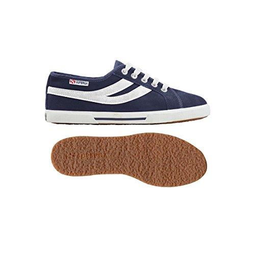 Sneakers - 2951-sueu Blue-white