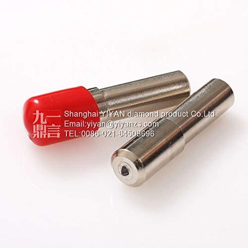 Maslin 10mm shank dia 48mm length flat head single point diamond grinding wheel dresser cutter dressing pen