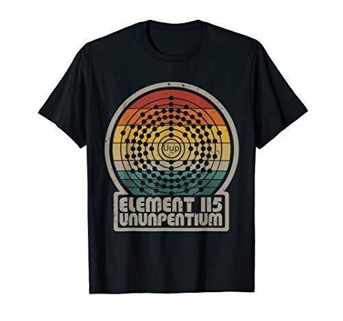 Retro Element 115 Ununpentium Alien T-Shirt