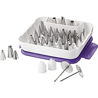 Wilton Master Decorating Tip Set, 55-Piece decorating tips, 2104-0240