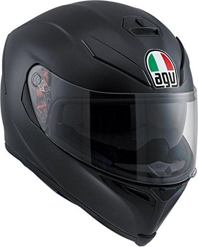 AGV K-5Unisex-Adult full-face-helmet-style Casco, Negro mate, Large