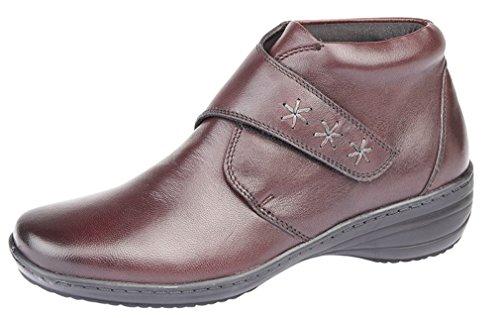 Mod Comfys, Damen Stiefel & Stiefeletten burgunderfarben