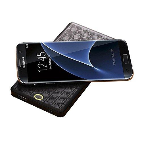 teepao 2en 1alambre/inalámbrica Qi cargador de 6000mAh Banco de energía portátil Batería externa para iPhone X...