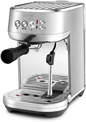 SAGE SES500BSS the Bambino Plus, Cafetera espresso, Cappuccinatore, 15 Bar, Acero Inoxidable: Amazon.es: Hogar