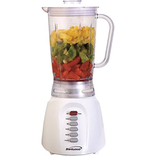 Brentwood JB-206 6-Speed Blender Plastic Jar