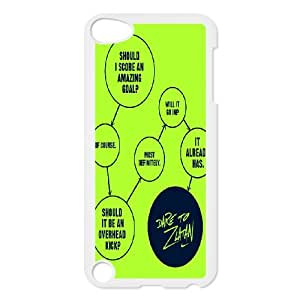 Generic Case Dare to zlatan green sports art For Samsung Galaxy Note 2 N7100 Q2A2217833