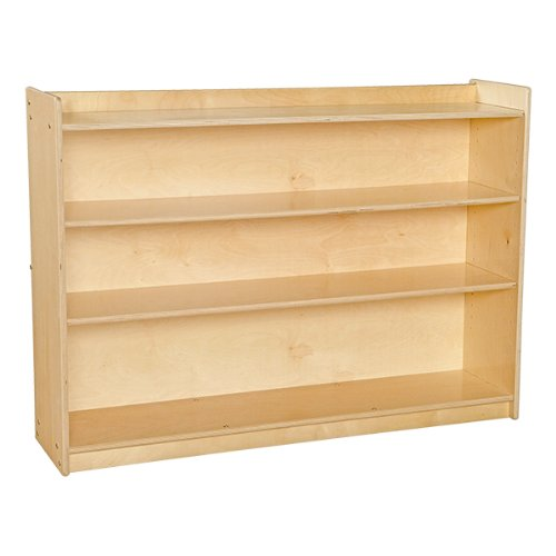 Sprogs Mobile Adjustable Bookcase with Lip - Unassembled, ()