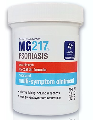 MG217 Psoriasis Treatment, Medicated Conditioning 2% Coal Tar Multi-Symptom Ointment, 3.8 - Ointment Coal Tar