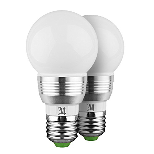 kobra led bulb color changing light bulb with remote control 2 pack 16 different color choices. Black Bedroom Furniture Sets. Home Design Ideas