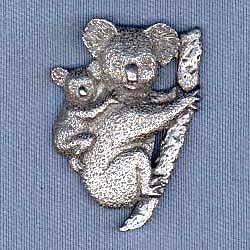 Koala Bear Pin Enameled Marcasite Pave/' Koala Bear Brooch Sterling Silver /& Marcasite Koala Bear Brooch