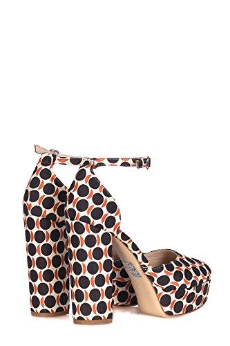 Sandales En Tissu Multicouleur Femmes Strategia
