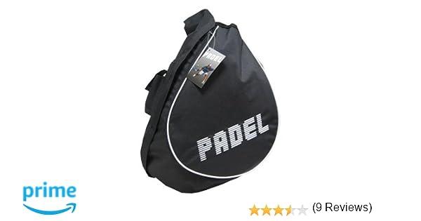 Softee 0533098 Paletero de pádel, Unisex Adulto, Negro/Blanco, Talla Única: Amazon.es: Deportes y aire libre