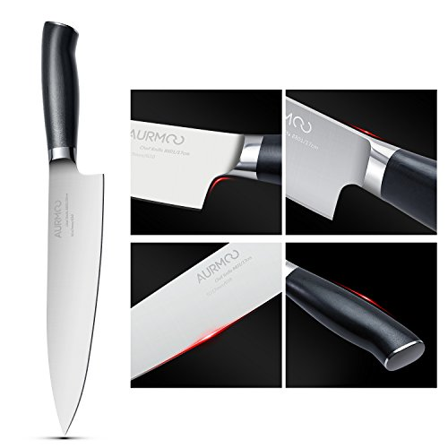 Chef Knife 8 inches, Kitchen knife High Carbon, Stainless Steel Knives With Ergonomic Handle for Home Kitchen & Restaurant