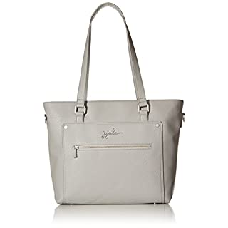 JuJuBe Everyday Tote Vegan Leather Travel Bag, Ever Collection - Stone