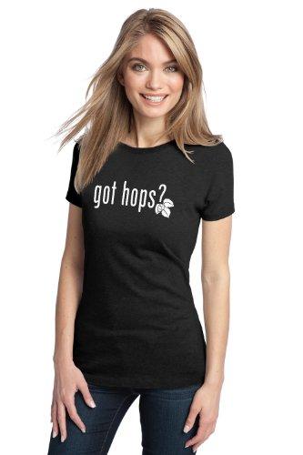GOT HOPS? Ladies' T-shirt / Home Brew, Craft Brewer Enthusiast Hophead Beer Tee