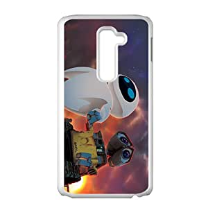 wall-e and eve wide Case Cover For LG G2 Case