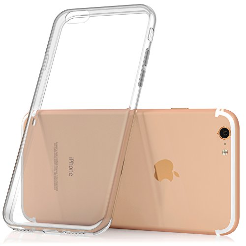 SDTEK iPhone 7 Plus Coque Housse Silicone Case Cover Transparent Crystal Clair Soft Gel TPU