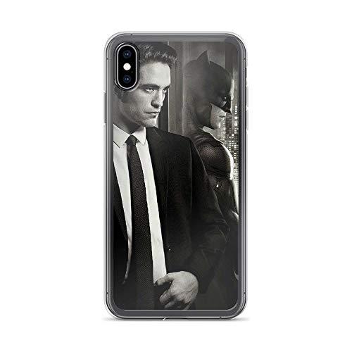 iPhone Xs Max Pure Anti-Shock Clear Case Bat-Man Robert Pattinson