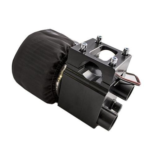 PCI Race Radios Dual Boost Fresh Air Pumper For 1.5 Inch / 1.75 Tubing, Sandrails And Razors