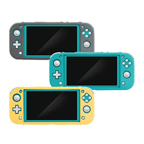 Nyko Silicone Cover Multi-Pak - 3 Various Color Soft Protective Covers with Textured Grip for Nintendo Switch Lite