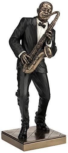 Saxophone Player Statue Sculpture Figurine – Jazz Band Collection