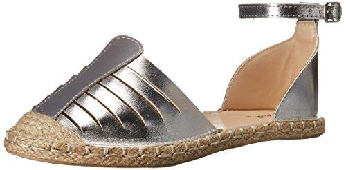 Qupid Womens Mermosa-10B Flat Silver