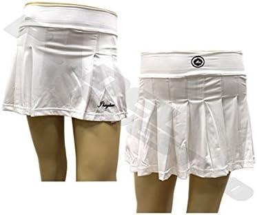 Jhayber Falda JHAYBER Raqueta Blanca: Amazon.es: Deportes y aire ...