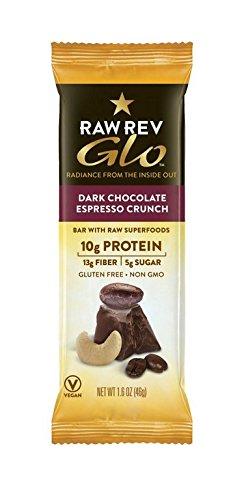 Raw Revolution Bar Prtn Glo Dk Chc Espresso