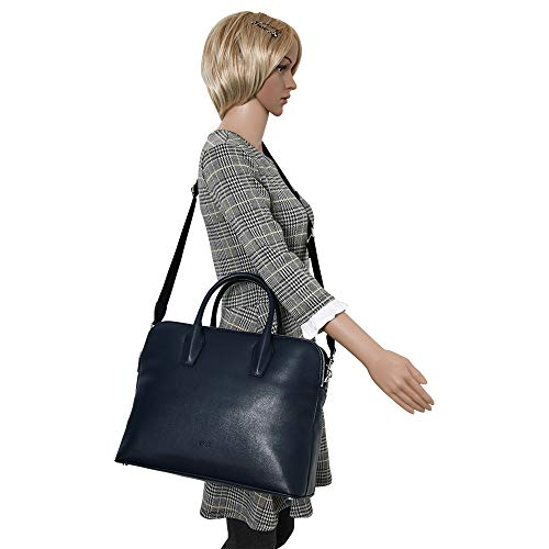 dark S19 3 Workbag Blue Azul Collection Mujer Dark Bolsos Blue Chicago Bandolera Bree O4aFqxP4