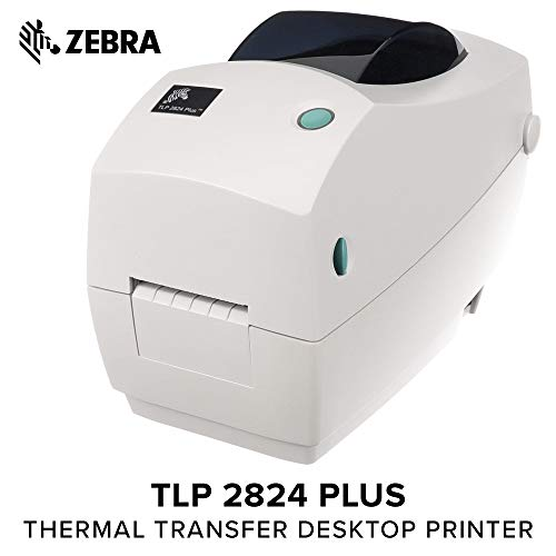 Zebra - TLP2824 Plus Thermal Transfer Desktop Printer for La