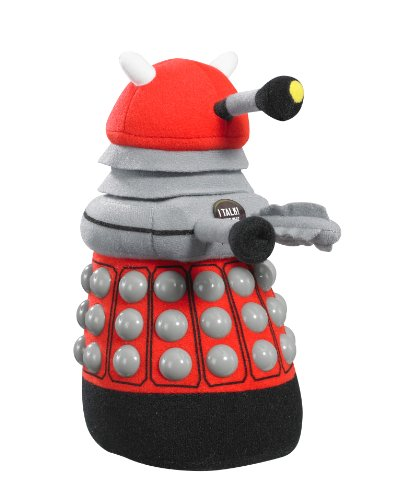 Doctor Who Dalek Talking 22,8 cm en peluche (Rouge)