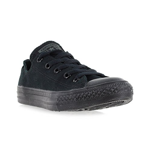 All Black Kids Shoes