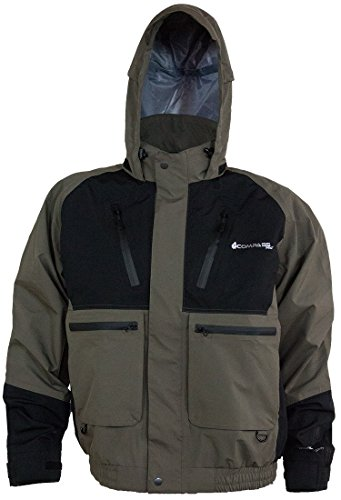 COMPASS HT23102-1085-XX Thunder 2-Color Hydrotek Jacket, Black/Stone, XX-Large For Sale