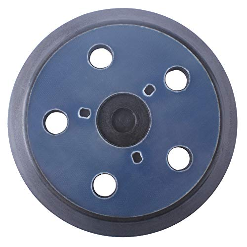 876691 Backing Pad - 5 Inch 5 Hole Hook and Loop Sander Pad Replacement for Porter Cable 333 334 Sander Velcro - Replace 13904 13909 ()