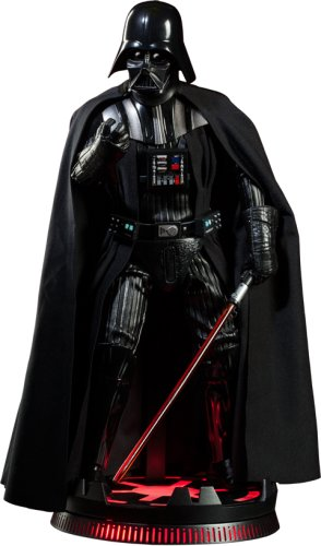 - Darth Vader six scale deluxe exclusive