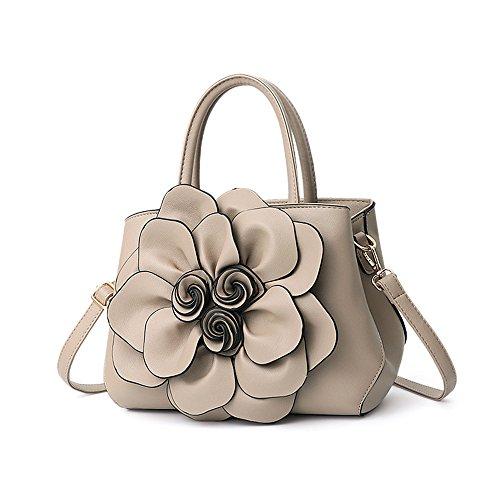 Chaud Sac Khaki De De Unique GWQGZ Nouveau Style À Sacoche Rose Sac À Bandoulière Mode Main Fleur 1txqvzHa