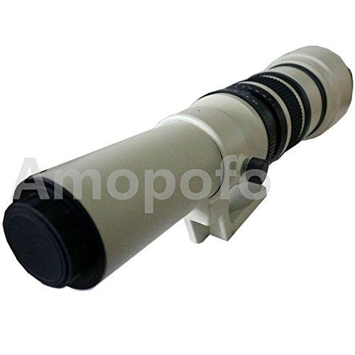 amopofo、500 mm f6.3 – 32望遠レンズfor Panasonic gm5 gh4 gm1 gx85 gx8 gx7 g7 gh3   B0721KGYW2