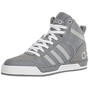 adidas Originals Men's Shoes Raleigh 9TIS Mid Basketball, Grey/Light Onix/Tech Grey, (10 M US)
