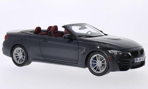 BMW M4 Convertible (F83), metallic-dark grey, 2014, Model Car, Ready-made, I-Paragon ()